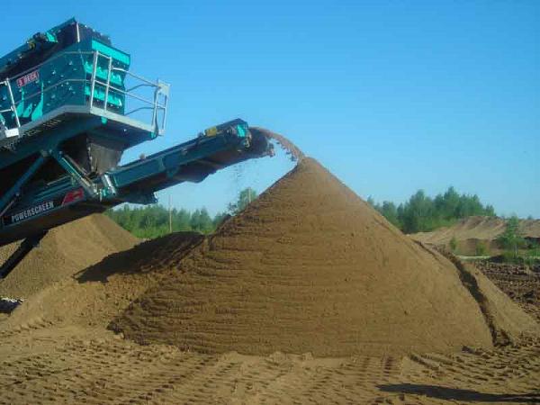 Какой песок нужен для штукатурки стен