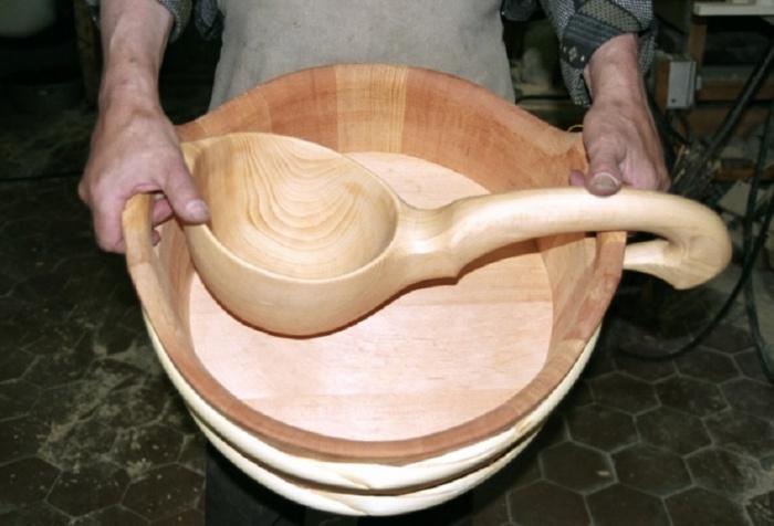 Как сделать черпак из дерева своими руками 85