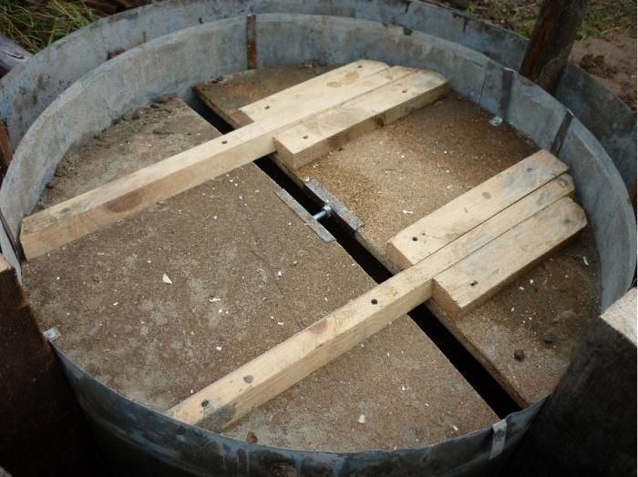 Квадратная опалубка для колодца своими руками 23