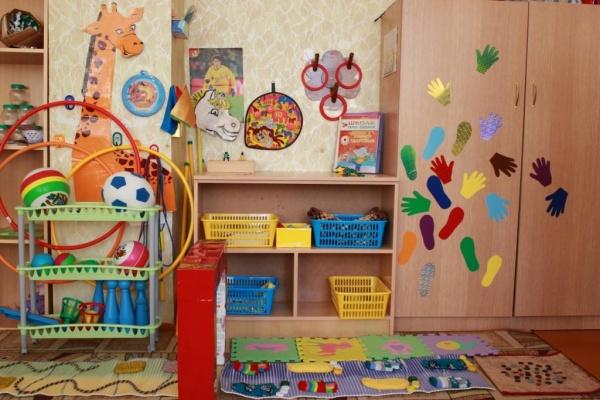 Оформление спортивного уголка в детском саду фото своими руками