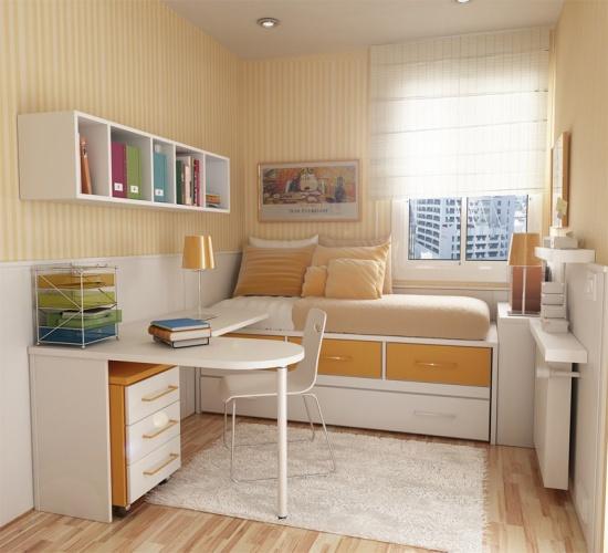 Дизайн маленьких комнат детских
