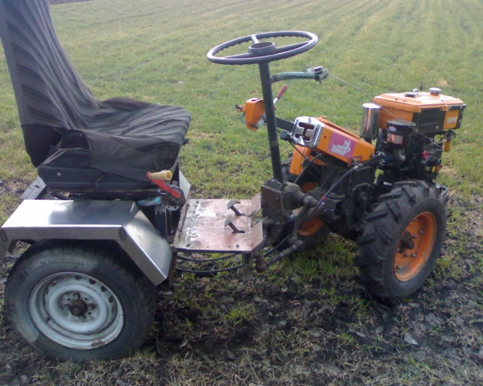 Мини трактора сделай сам