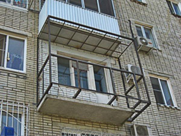Расширить балкон - как расширить балкон, на сколько