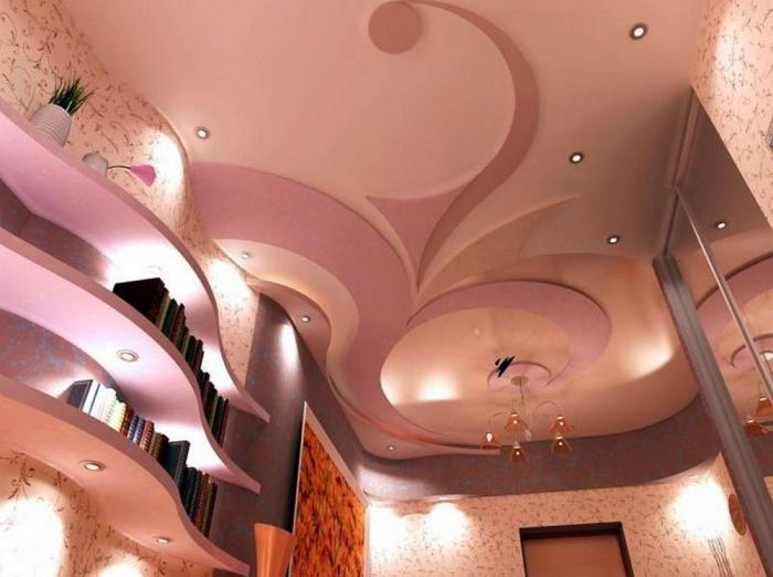 Подвесной потолок своими руками дизайн