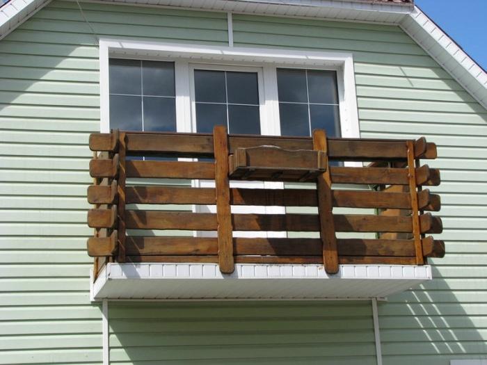 Балконные ограждения.