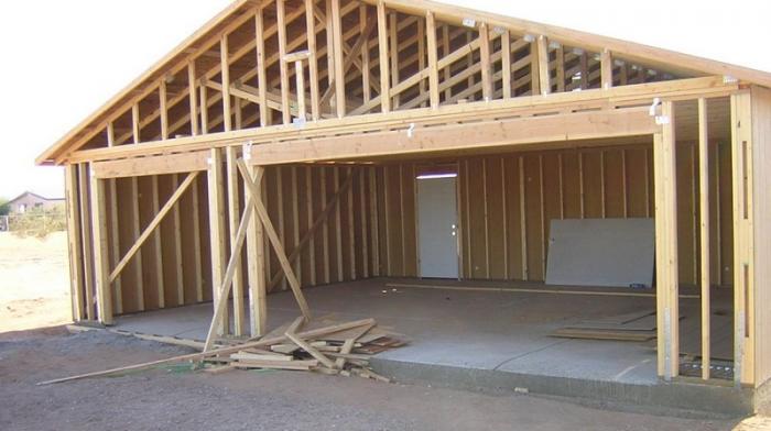 Как построить гараж дешево и быстро