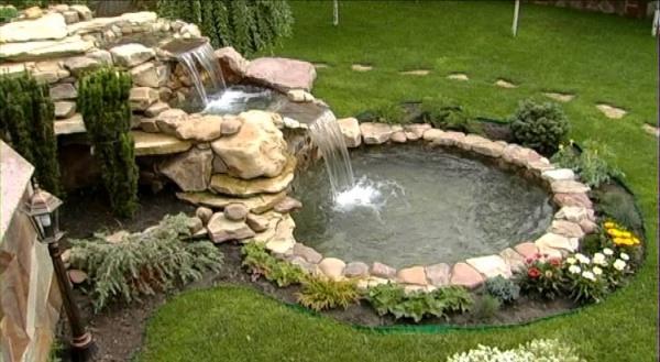 Как сделать водоем в саду
