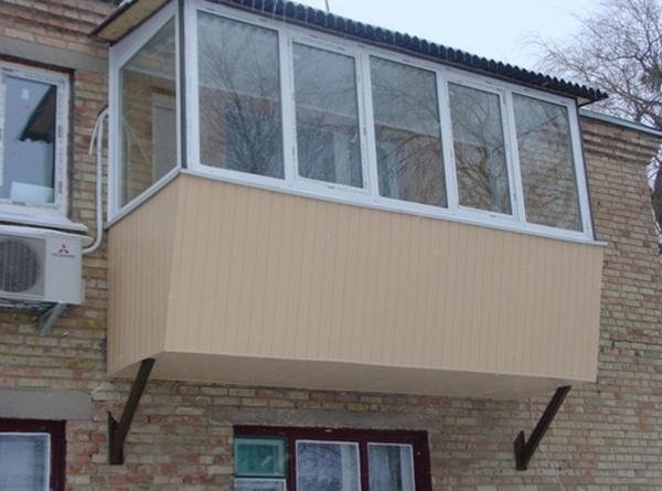 Расширить балкон - как расширить балкон, на сколько 83