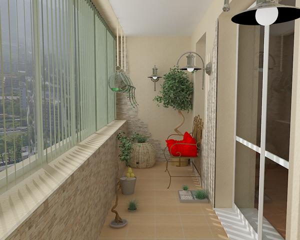 Балконы квадратные дизайн фото