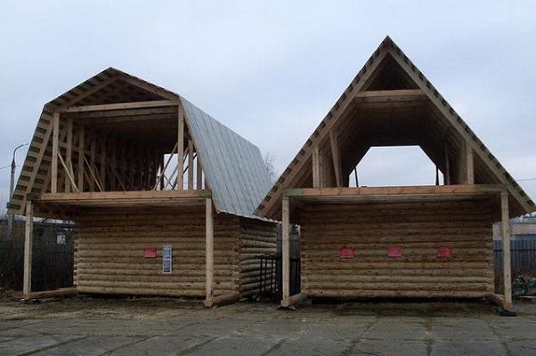 пятискатная крыша фото