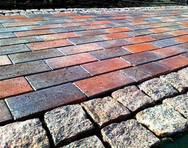 Раствор для тротуарной плитки: пропорции, состав и как