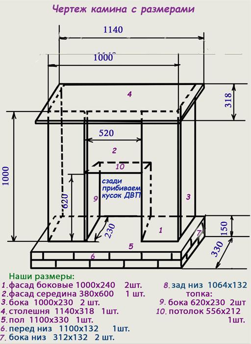 Портал для электрокамина чертежи электрокамины для квартиры оптом