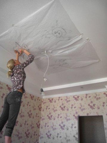 Потолки из гипсокартона для спальни (80) 96