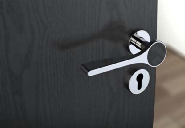 Как разобрать замок на межкомнатной двери видео