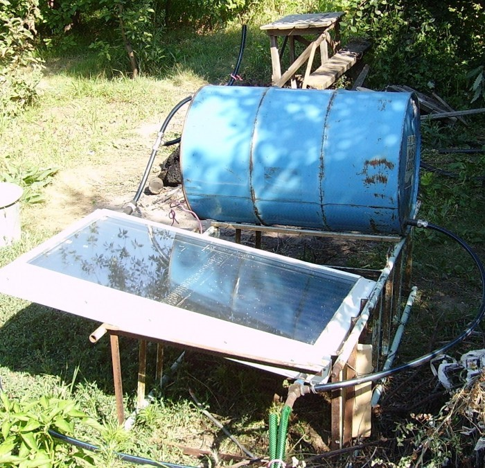 Как отопить летний душ на даче