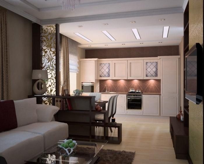 Кухня 25 квадратных метров дизайн