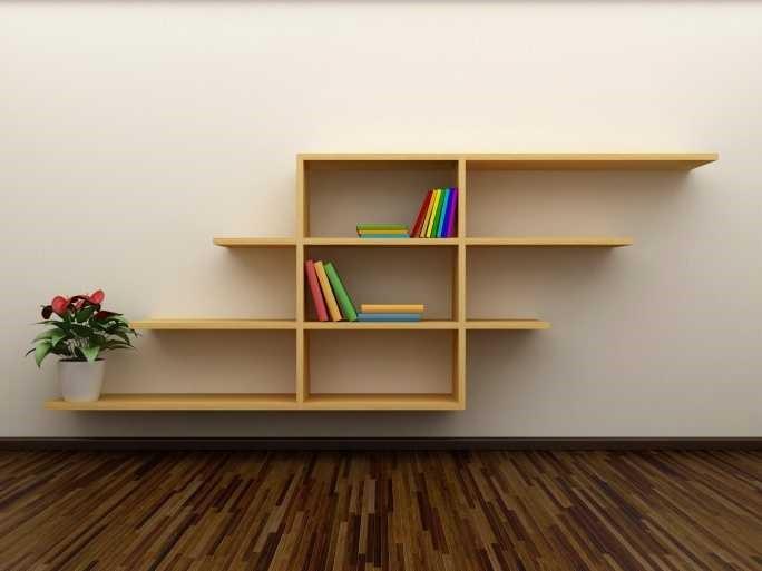 Как сделать себе полку для книг
