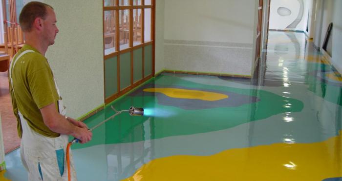Скользит ли наливной глянцевый пол бетоноконтакт feidal сколько времени сохнет