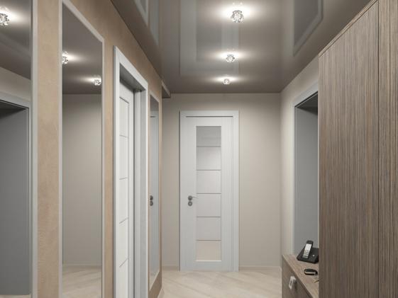 Дизайн прихожей для узкого коридора фото