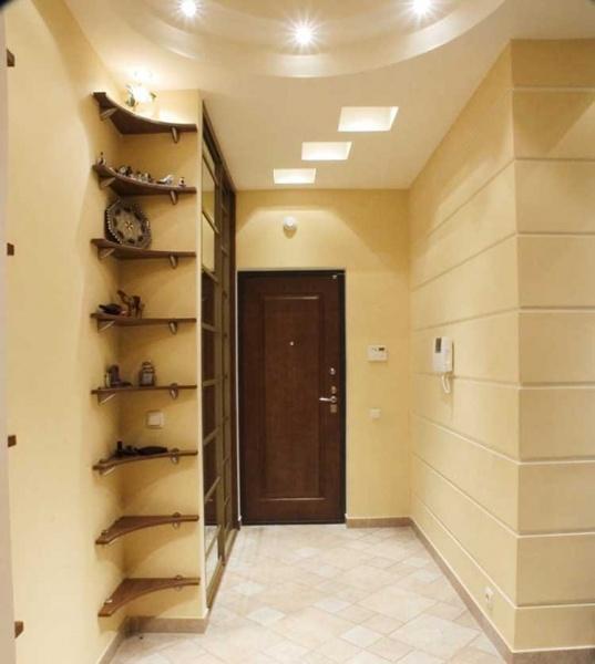 Дизайн потолок коридор