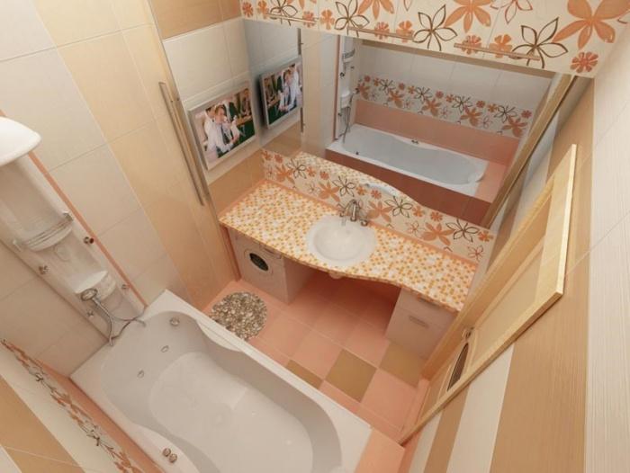 Как оформить ванную комнату фото в хрущевке