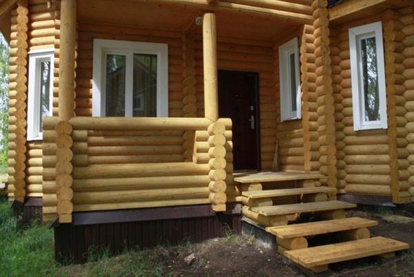 Как сделать деревянные ступеньки фото 152
