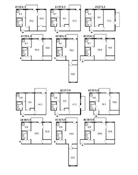 Планировка (56 фото): идеи ремонта 2 комнатной