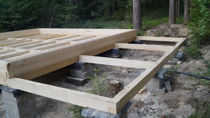 Строительство домов из бруса под 66