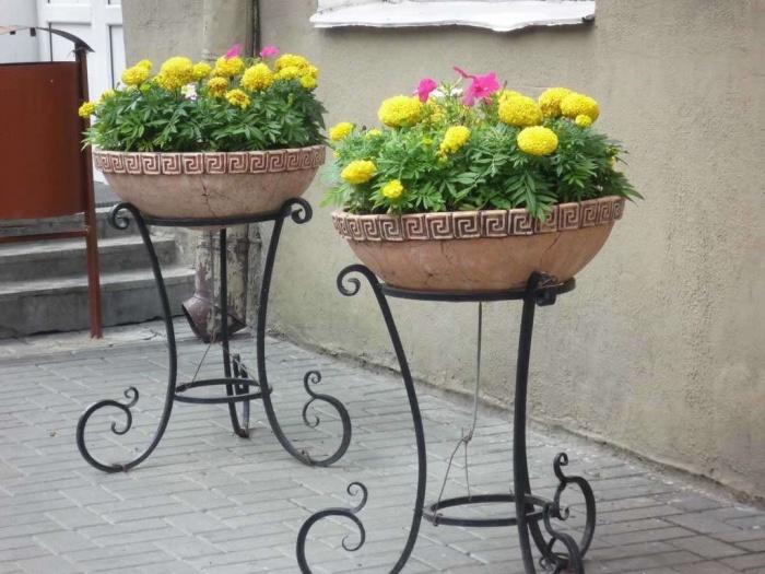 Кашпо для цветов уличные