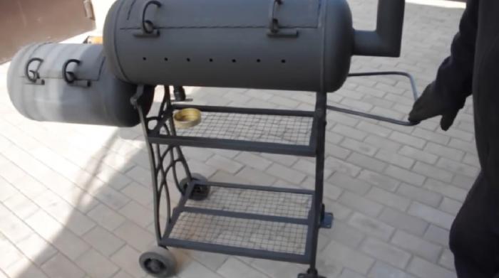 Как сделать гриль на газу своими руками
