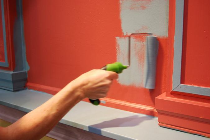 На сколько хватит 10 литров краски для стен наливные полы 3d материалы купить