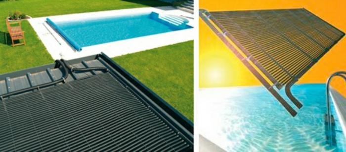 Солнечный коллектор для обогрева бассейна