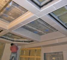 кессонновый потолк