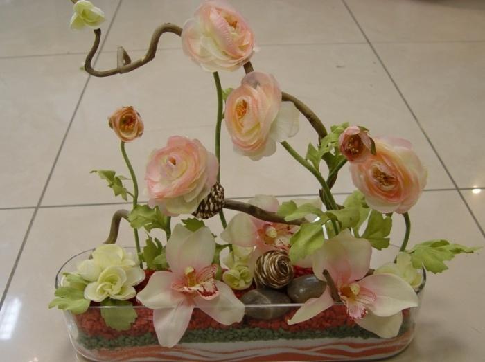 Фото искусственных цветов сделанных своими руками