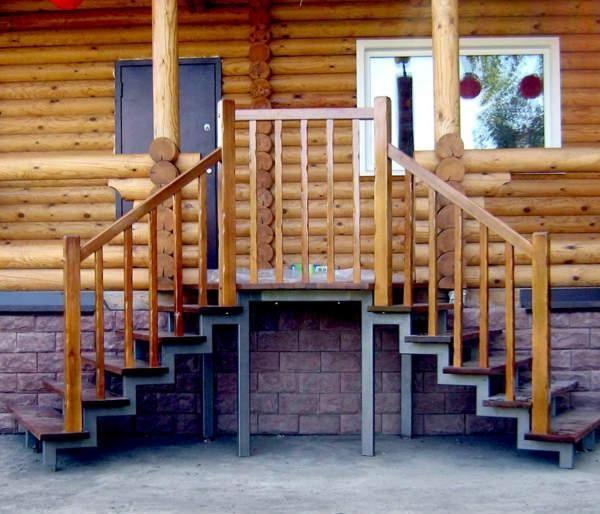 Как сделать крыльцо деревянное в частном доме своими руками