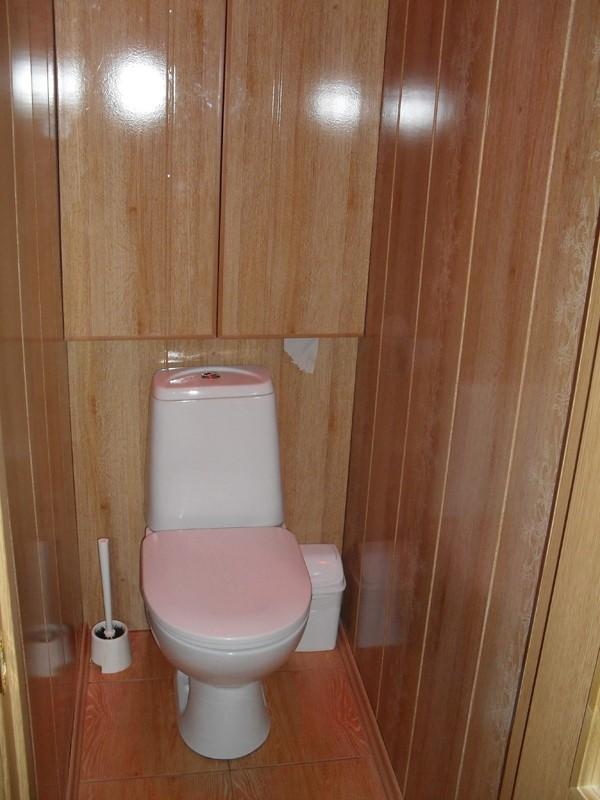 Ремонт туалета комнаты своими руками панелями фото 437
