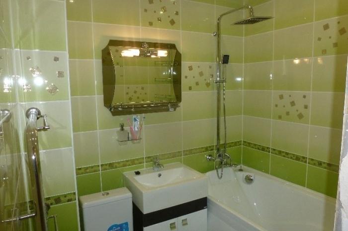 Бюджетный ремонт ванной комнаты своими руками до и после картинки 21