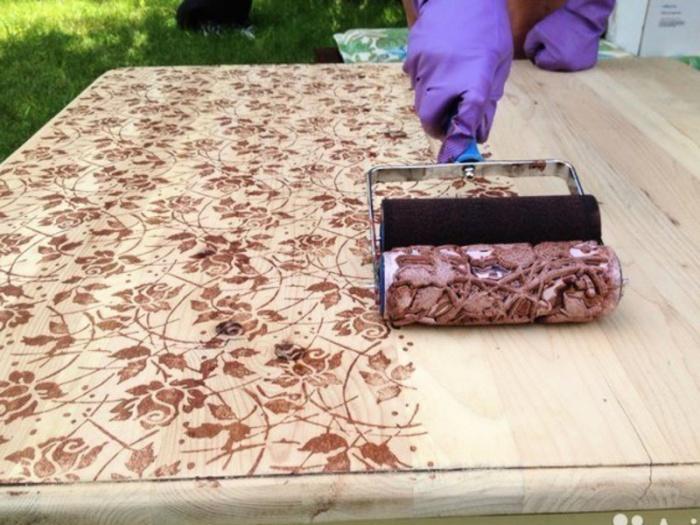 Валики с узорами для покраски стен купить каучуковая мастика цена