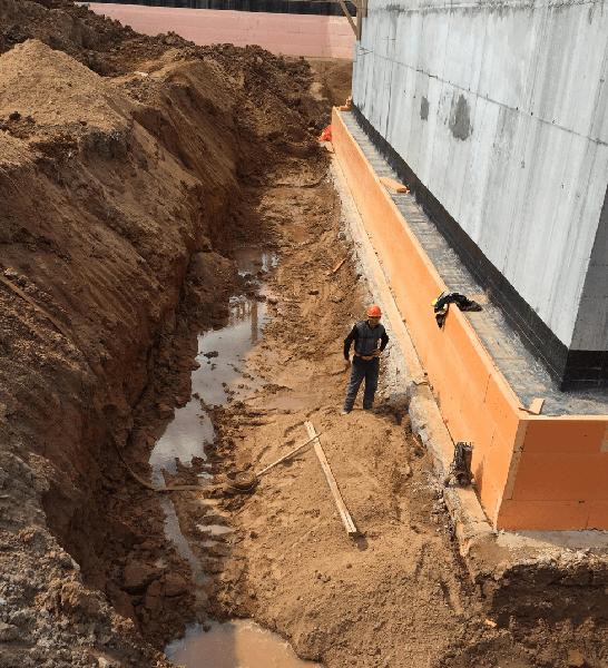 Гидроизоляция бетонных свай