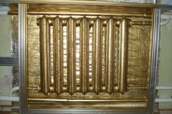Эмаль для радиаторов отопления