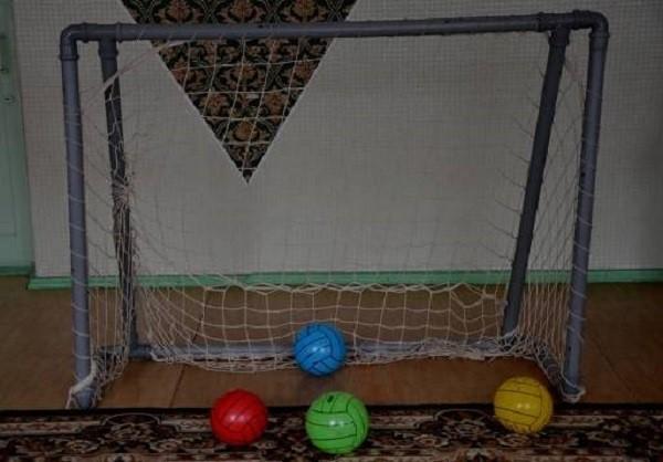 Из чего можно сделать сетку для футбольных ворот своими руками фото 676