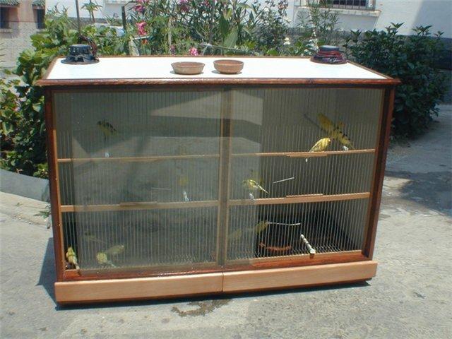 Домашний вольер для птиц