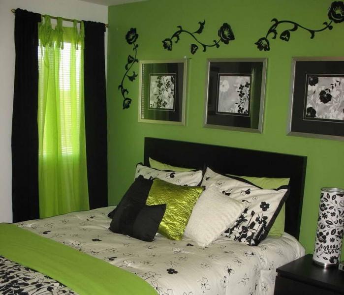 Как подобрать шторы к зеленым обоям правильное сочетание