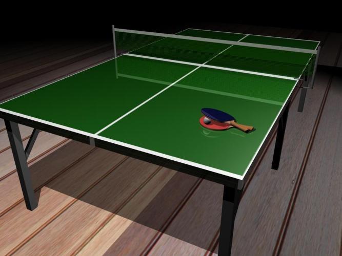 Складной теннисный стол своими руками