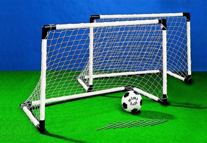 Как построить футбольные ворота своими руками 18