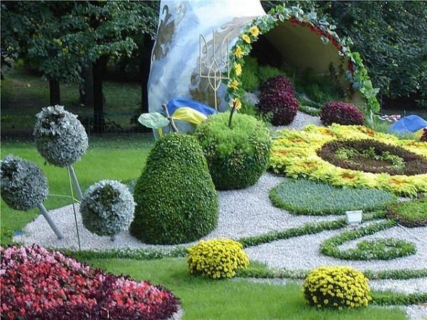 Дизайн узкого садового участка своими руками