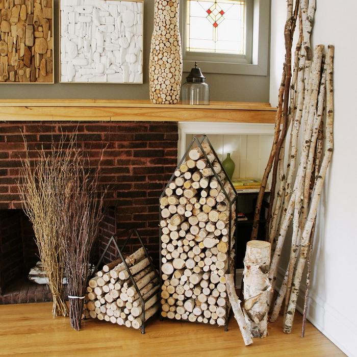 Подставка для дров как сделать 80