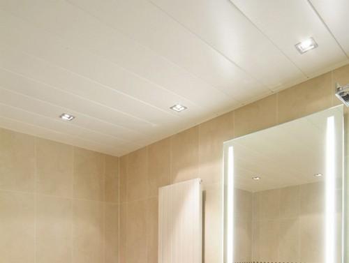 Потолок из пвх в ванной комнате своими руками