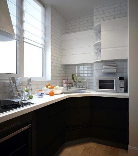 Кухня на балконе 4 кв.м дизайн