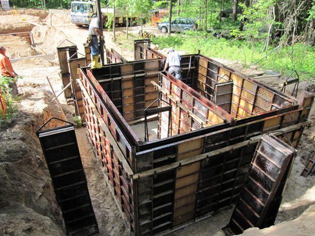 Изготовление подвала из бетона своими руками 6